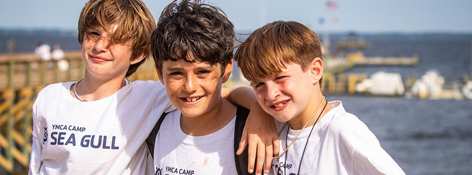 Two boys at Camp Sea Gull